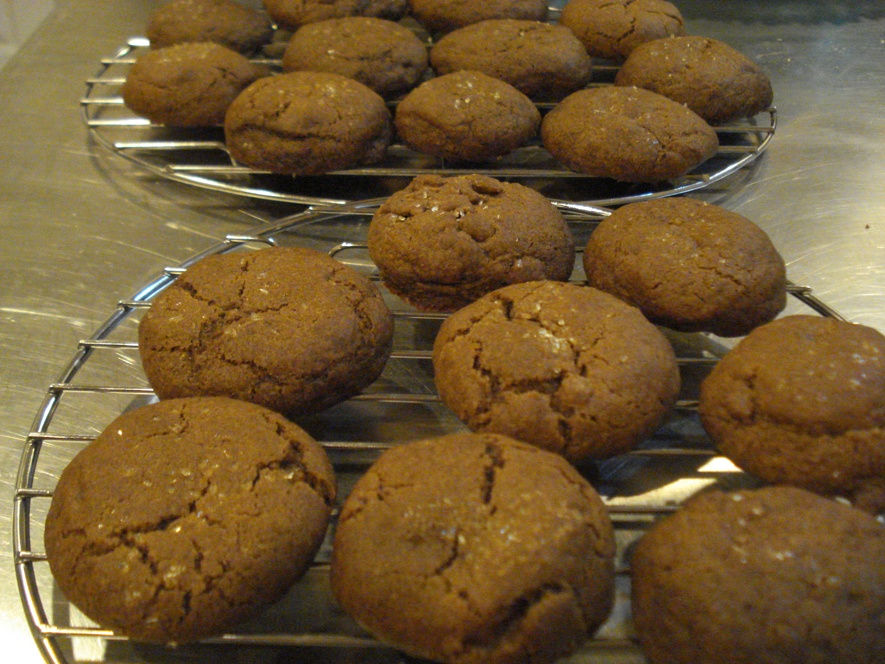 Double-Ginger Cookies | Color My Palate