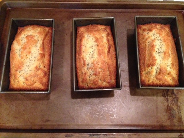 Lemon Poppy Seed Loaves